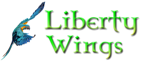 Liberty Wings Logo Brand